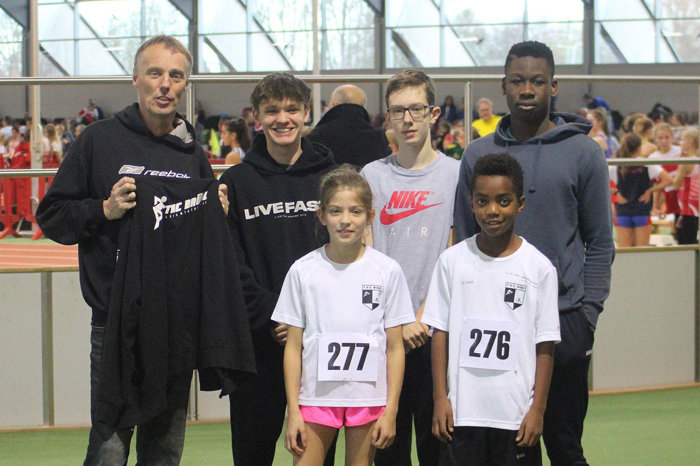 THC Leichtathletik: Der Einstand ist gelungen