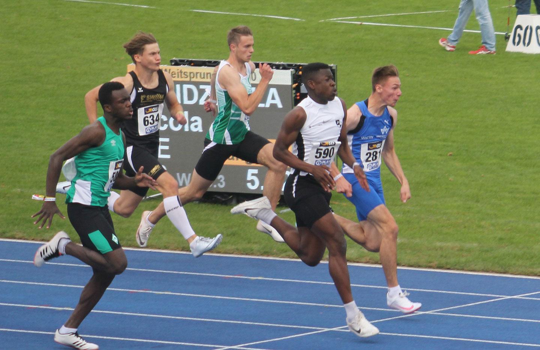 THC Leichtathletik: Chidera Onuoha Deutscher Meister 2020